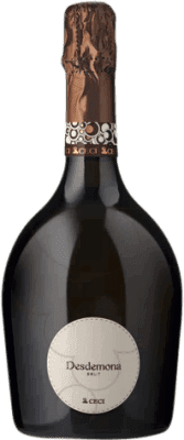 8,95 € Free Shipping | White sparkling Ceci Desdemona Brut Joven Otras D.O.C. Italia Italy Pinot White Bottle 75 cl | Thousands of wine lovers trust us to get the best price guarantee, free shipping always and hassle-free shopping and returns.