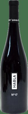 19,95 € Envoi gratuit | Vin rouge Habla Nº 17 I.G.P. Vino de la Tierra de Extremadura Andalucía y Extremadura Espagne Cabernet Sauvignon, Cabernet Franc, Petit Verdot Bouteille 75 cl