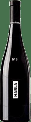 19,95 € Free Shipping | Red wine Habla Nº 9 I.G.P. Vino de la Tierra de Extremadura Andalucía y Extremadura Spain Tempranillo, Cabernet Sauvignon, Petit Verdot Bottle 75 cl