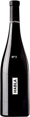 19,95 € Envío gratis | Vino tinto Habla Nº 9 I.G.P. Vino de la Tierra de Extremadura Andalucía y Extremadura España Tempranillo, Cabernet Sauvignon, Petit Verdot Botella 75 cl