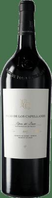 56,95 € Kostenloser Versand | Rotwein Pago de los Capellanes Reserva D.O. Ribera del Duero Kastilien und León Spanien Tempranillo, Cabernet Sauvignon Magnum-Flasche 1,5 L