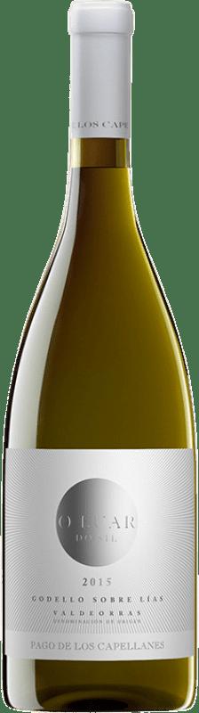 16,95 € Free Shipping | White wine Pago de los Capellanes O Luar do Sil Sobre Lías Crianza D.O. Valdeorras Galicia Spain Godello Bottle 75 cl