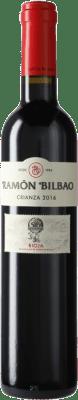 7,95 € Spedizione Gratuita | Vino rosso Ramón Bilbao Crianza D.O.Ca. Rioja La Rioja Spagna Tempranillo Mezza Bottiglia 50 cl