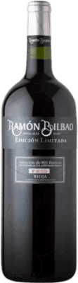 24,95 € Free Shipping | Red wine Ramón Bilbao Edicion Limitada Crianza D.O.Ca. Rioja The Rioja Spain Tempranillo Magnum Bottle 1,5 L