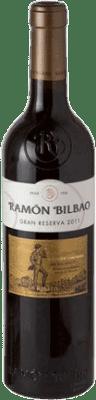28,95 € Envoi gratuit | Vin rouge Ramón Bilbao Edición Limitada Gran Reserva 2011 D.O.Ca. Rioja La Rioja Espagne Tempranillo, Grenache, Graciano Bouteille 75 cl