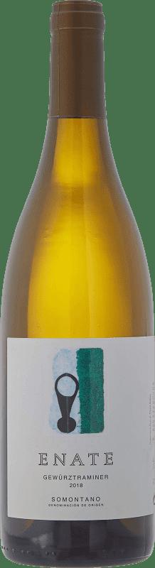 9,95 € Envío gratis | Vino blanco Enate Joven D.O. Somontano Aragón España Gewürztraminer Botella 75 cl