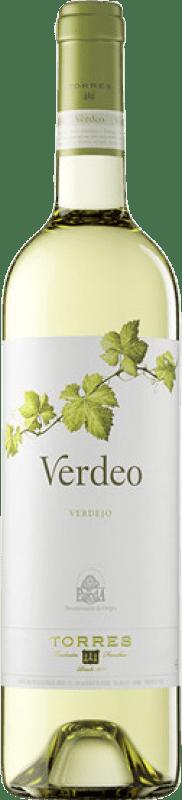 7,95 € Free Shipping | White wine Torres Verdeo Joven D.O. Rueda Castilla y León Spain Verdejo Bottle 75 cl