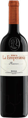 14,95 € Envoi gratuit | Vin rouge Hernáiz Finca La Emperatriz Reserva D.O.Ca. Rioja La Rioja Espagne Tempranillo, Grenache, Macabeo Bouteille 75 cl