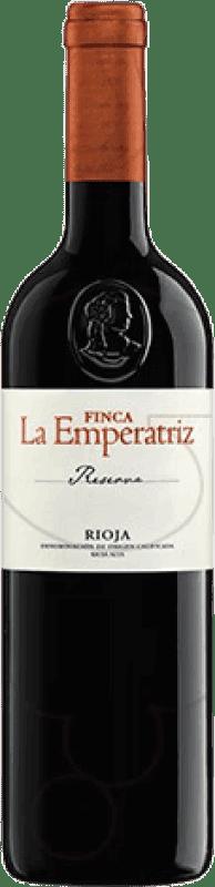 14,95 € Envío gratis | Vino tinto Hernáiz Finca La Emperatriz Reserva D.O.Ca. Rioja La Rioja España Tempranillo, Garnacha, Macabeo Botella 75 cl