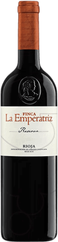 74,95 € Envoi gratuit | Vin rouge Hernáiz Finca La Emperatriz Reserva D.O.Ca. Rioja La Rioja Espagne Tempranillo, Grenache, Macabeo Bouteille Jéroboam-Doble Magnum 3 L