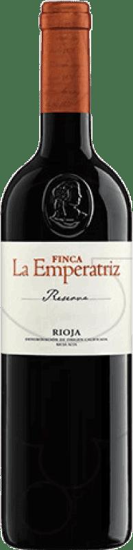 74,95 € Envío gratis | Vino tinto Hernáiz Finca La Emperatriz Reserva D.O.Ca. Rioja La Rioja España Tempranillo, Garnacha, Macabeo Botella Jéroboam-Doble Mágnum 3 L