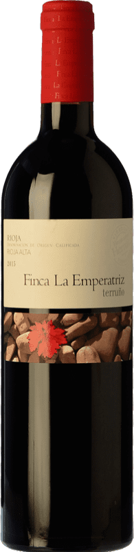21,95 € Envío gratis | Vino tinto Hernáiz Finca La Emperatriz Terruño D.O.Ca. Rioja La Rioja España Tempranillo Botella 75 cl