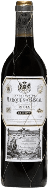 32,95 € Envoi gratuit   Vin rouge Marqués de Riscal Reserva D.O.Ca. Rioja La Rioja Espagne Tempranillo, Graciano, Mazuelo, Carignan Bouteille Magnum 1,5 L