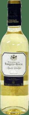 6,95 € Free Shipping | White wine Marqués de Riscal Joven D.O. Rueda Castilla y León Spain Verdejo Half Bottle 37 cl