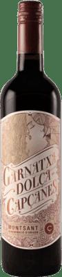 9,95 € Kostenloser Versand | Verstärkter Wein Capçanes Dolça Süß D.O. Montsant Katalonien Spanien Grenache, Grenache Weiß Flasche 75 cl