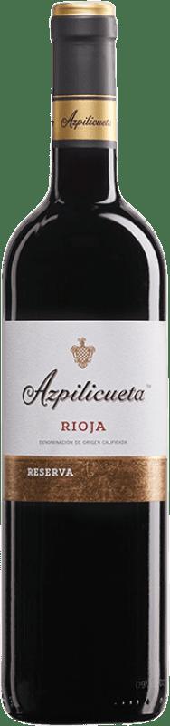 12,95 € Free Shipping | Red wine Campo Viejo Azpilicueta Reserva D.O.Ca. Rioja The Rioja Spain Tempranillo, Graciano, Mazuelo, Carignan Bottle 75 cl