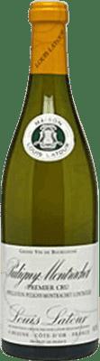92,95 € Envoi gratuit | Vin blanc Louis Latour 1er Cru Crianza A.O.C. Chassagne-Montrachet France Chardonnay Bouteille 75 cl