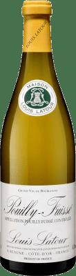 29,95 € Бесплатная доставка | Белое вино Louis Latour Crianza A.O.C. Pouilly-Fuissé Франция Chardonnay бутылка 75 cl