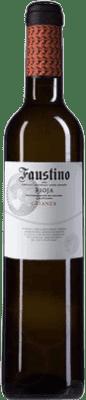 4,95 € Envío gratis | Vino tinto Faustino Crianza D.O.Ca. Rioja La Rioja España Tempranillo Media Botella 50 cl