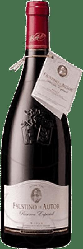 23,95 € Envoi gratuit | Vin rouge Faustino Autor Reserva D.O.Ca. Rioja La Rioja Espagne Tempranillo, Graciano Bouteille 75 cl