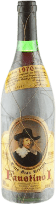 87,95 € Free Shipping | Red wine Faustino I Gran Reserva 1970 D.O.Ca. Rioja The Rioja Spain Tempranillo, Graciano, Mazuelo, Carignan Bottle 75 cl