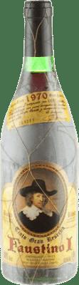 87,95 € Envoi gratuit | Vin rouge Faustino I Gran Reserva 1970 D.O.Ca. Rioja La Rioja Espagne Tempranillo, Graciano, Mazuelo, Carignan Bouteille 75 cl