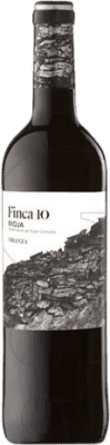 3,95 € Free Shipping | Red wine Faustino Finca 10 Crianza D.O.Ca. Rioja The Rioja Spain Tempranillo Bottle 75 cl