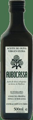 14,95 € Envío gratis | Aceite Bodegas Roda Oli Aubocassa España Media Botella 50 cl