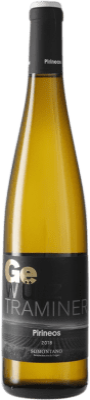 16,95 € Envoi gratuit | Vin blanc Pirineos Joven D.O. Somontano Aragon Espagne Gewürztraminer Bouteille 75 cl