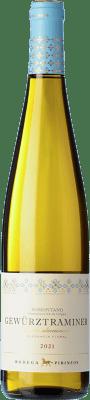 12,95 € Free Shipping | White wine Pirineos Joven D.O. Somontano Aragon Spain Gewürztraminer Bottle 75 cl