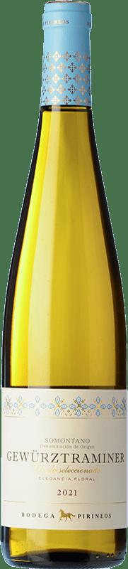 9,95 € Envoi gratuit   Vin blanc Pirineos Joven D.O. Somontano Aragon Espagne Gewürztraminer Bouteille 75 cl