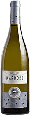 Vin blanc Pirineos Marbore Crianza 2009 D.O. Somontano Aragon Espagne Bouteille 75 cl