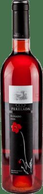 4,95 € Envío gratis | Vino rosado Perelada Joven D.O. Empordà Cataluña España Tempranillo, Merlot, Garnacha Botella 75 cl