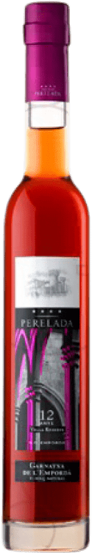 19,95 € Free Shipping | Fortified wine Perelada 12 Años Vella Reserva D.O. Empordà Catalonia Spain Grenache White, Garnacha Roja Half Bottle 37 cl