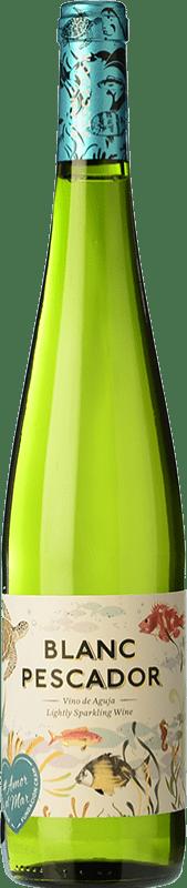 3,95 € Free Shipping | White sparkling Perelada Pescador Catalonia Spain Macabeo, Xarel·lo, Parellada Bottle 75 cl