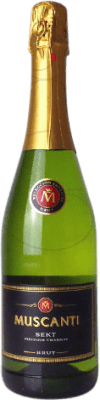2,95 € Free Shipping | White sparkling Perelada Muscanti Brut Joven Catalonia Spain Macabeo, Xarel·lo, Parellada Bottle 75 cl | Thousands of wine lovers trust us to get the best price guarantee, free shipping always and hassle-free shopping and returns.