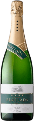 5,95 € Free Shipping | White sparkling Perelada Dry D.O. Cava Catalonia Spain Macabeo, Xarel·lo, Parellada Bottle 75 cl