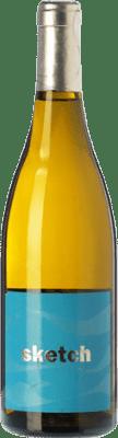 39,95 € Envoi gratuit | Vin blanc Raúl Pérez Sketch Crianza Castille et Leon Espagne Albariño Bouteille 75 cl