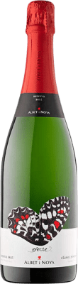 9,95 € Free Shipping | White sparkling Albet i Noya Efecte Brut Reserva D.O. Cava Catalonia Spain Macabeo, Xarel·lo, Chardonnay, Parellada Bottle 75 cl | Thousands of wine lovers trust us to get the best price guarantee, free shipping always and hassle-free shopping and returns.
