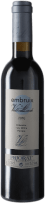 12,95 € Free Shipping | Red wine Vall Llach Embruix Crianza D.O.Ca. Priorat Catalonia Spain Merlot, Syrah, Grenache, Cabernet Sauvignon, Mazuelo, Carignan Half Bottle 37 cl