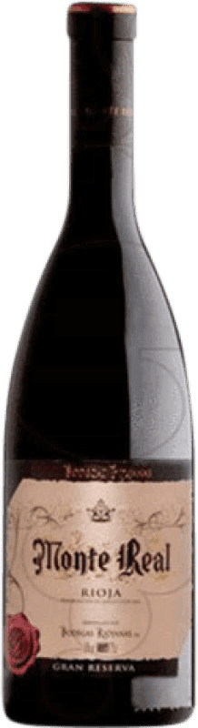 18,95 € Kostenloser Versand | Rotwein Bodegas Riojanas Monte Real Gran Reserva D.O.Ca. Rioja La Rioja Spanien Tempranillo, Graciano, Mazuelo, Carignan Magnum-Flasche 1,5 L