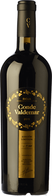 25,95 € Envoi gratuit | Vin rouge Valdemar Conde de Valdemar Edición Limitada D.O.Ca. Rioja La Rioja Espagne Tempranillo, Graciano, Maturana Tinta Bouteille 75 cl