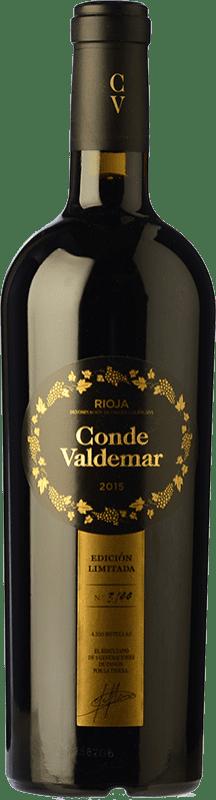 25,95 € Envío gratis | Vino tinto Valdemar Conde de Valdemar Edición Limitada D.O.Ca. Rioja La Rioja España Tempranillo, Graciano, Maturana Tinta Botella 75 cl