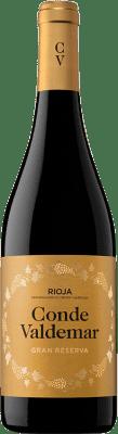18,95 € Envoi gratuit | Vin rouge Valdemar Conde de Valdemar Gran Reserva D.O.Ca. Rioja La Rioja Espagne Tempranillo, Graciano, Maturana Tinta Bouteille 75 cl