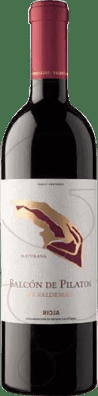 15,95 € Envío gratis | Vino tinto Valdemar Inspiración Balcón de Pilatos Crianza D.O.Ca. Rioja La Rioja España Maturana Tinta Botella 75 cl