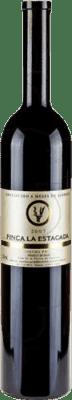 13,95 € Free Shipping | Red wine Finca La Estacada I.G.P. Vino de la Tierra de Castilla Castilla la Mancha y Madrid Spain Tempranillo Magnum Bottle 1,5 L