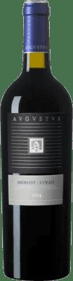 3,95 € Free Shipping | Red wine Augustus D.O. Penedès Catalonia Spain Merlot, Syrah Half Bottle 37 cl