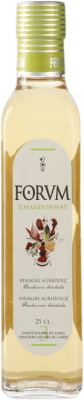 5,95 € Free Shipping | Vinegar Augustus Chardonnay Forum Spain Chardonnay Small Bottle 25 cl