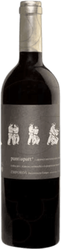 12,95 € Free Shipping | Red wine La Vinyeta Punt i a Part Crianza D.O. Empordà Catalonia Spain Cabernet Sauvignon, Mazuelo, Carignan Bottle 75 cl
