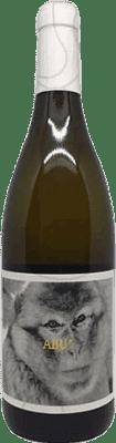 8,95 € Free Shipping | White wine La Vinyeta Abu Mono Joven D.O. Empordà Catalonia Spain Malvasía Bottle 75 cl
